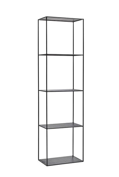 Kast open iron shelf 50x30x180cm