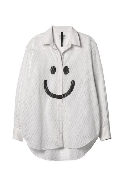 Blouse happy white