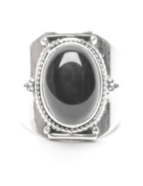 Ring black rock-1