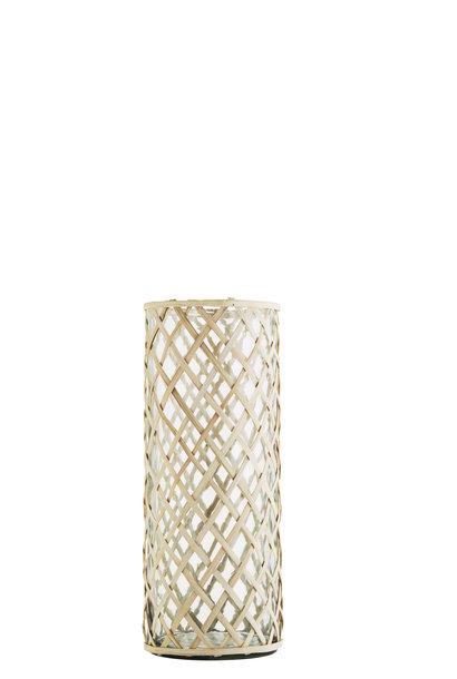 Vaas Glass cane 16x42cm