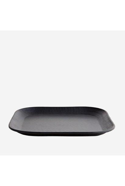 Schaal square black 36x36cm