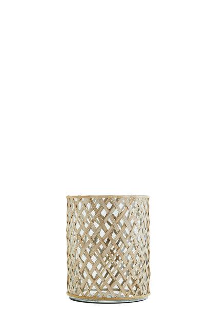 Vaas Glass cane 17x22cm