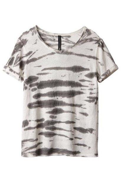 T-shirt tee zebra bone
