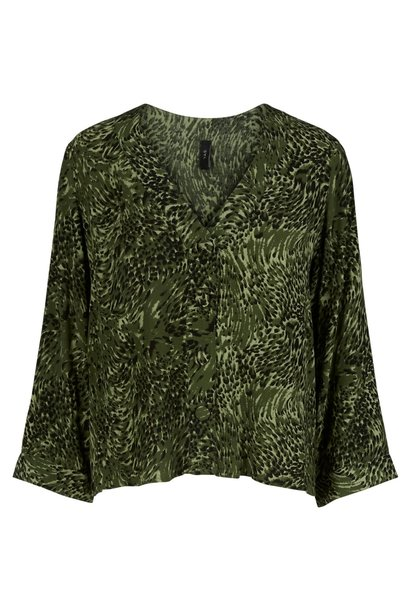Blouse Yashannen chive