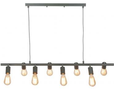 Hanglamp ijzer Miami 8-arm grijs-1