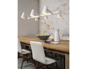 Hanglamp ijzer Biarritz 6-arm wit-2