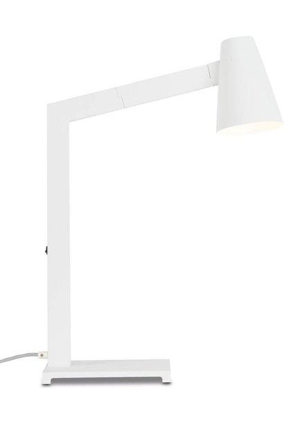 Tafellamp Biarritz wit ijzer