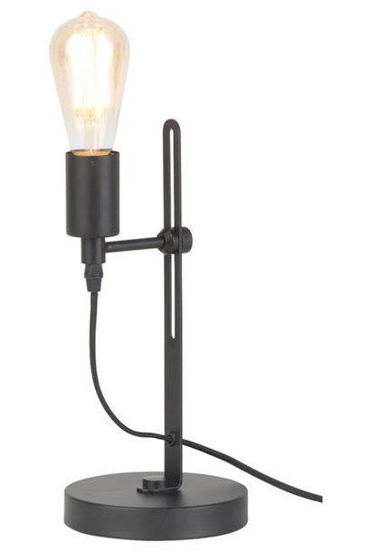 Tafellamp Seattle ijzer zwart