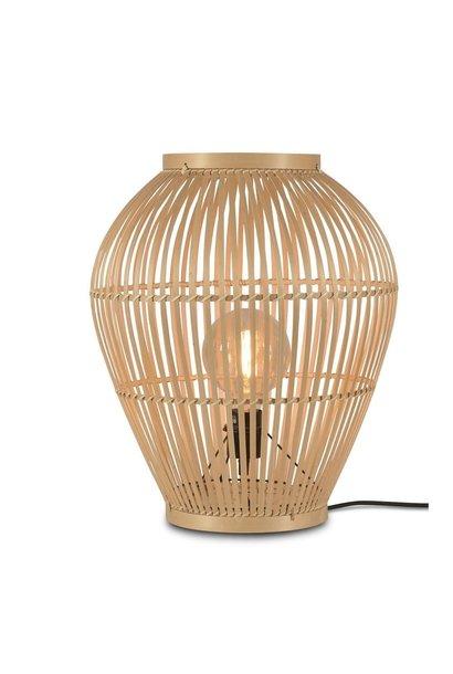 Vloerlamp Tuvalu bamboe S