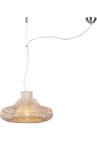 Hanglamp Kalahari wicker natural S