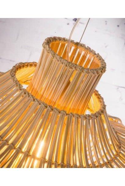 Hanglamp Kalahari wicker double  natural S