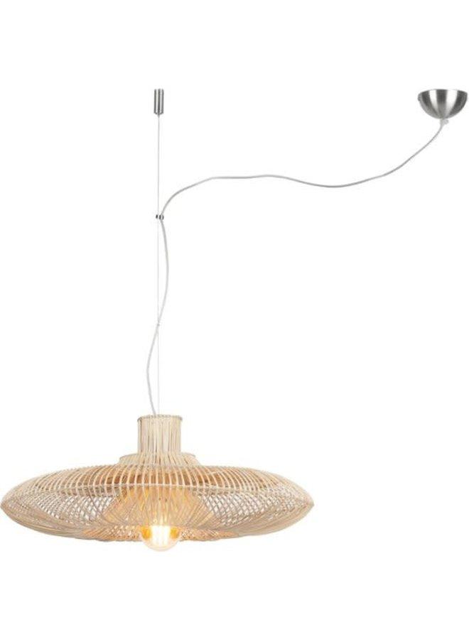 Hanglamp Kalahari wicker natural L
