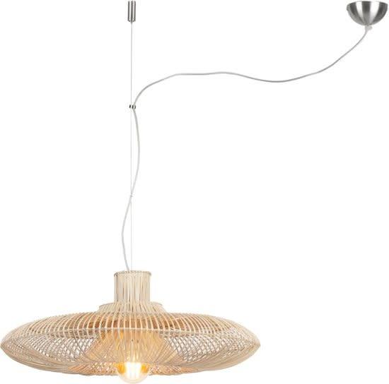 Hanglamp Kalahari wicker natural L-1