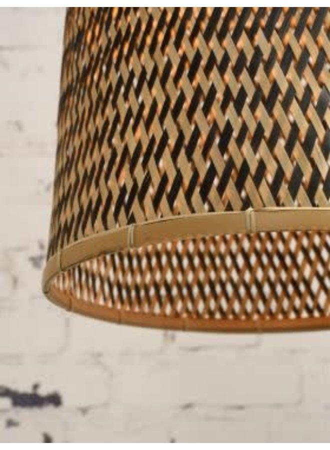 Hanglamp Kalimantan bamboo tapered L