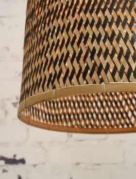 Hanglamp Kalimantan bamboo tapered L (incl.pendel)-2