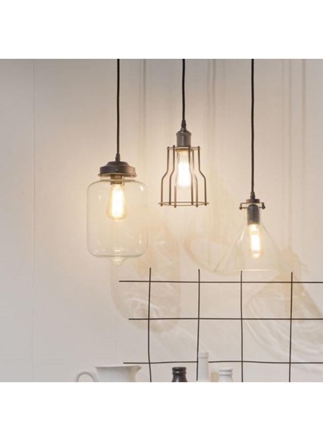 Hanglamp glas druppel Prague