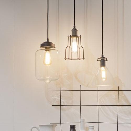 Hanglamp glas druppel Prague-2