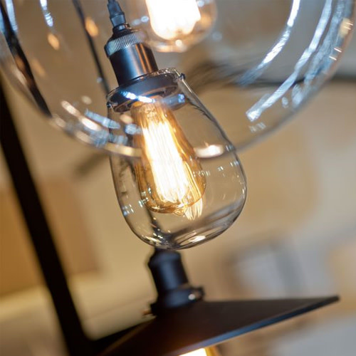 Hanglamp glas druppel Prague-3