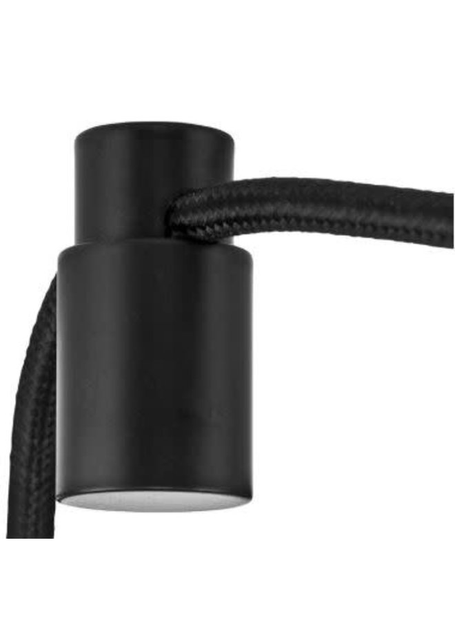Cableholder metal black
