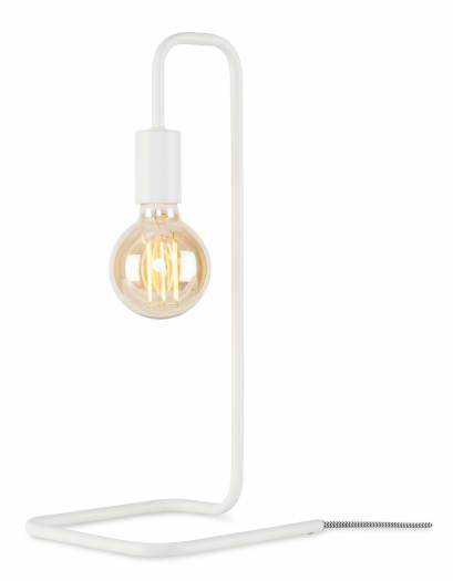 Tafellamp London ijzer wit-1