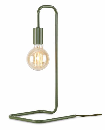 Tafellamp London ijzer groen-1