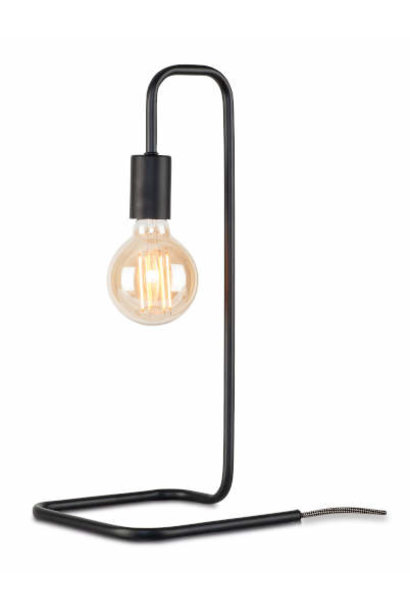 Tafellamp London ijzer zwart