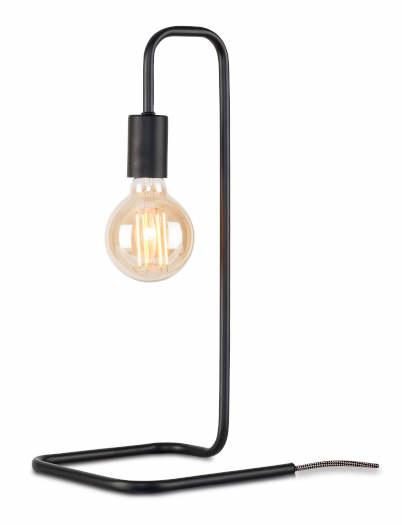 Tafellamp London ijzer zwart-1