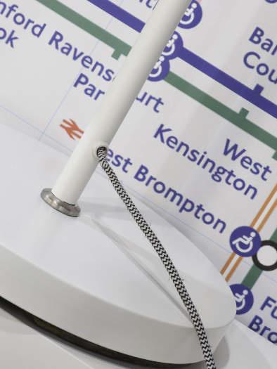 Vloerlamp London ijzer wit-3