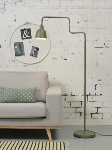 Vloerlamp London ijzer groen-3