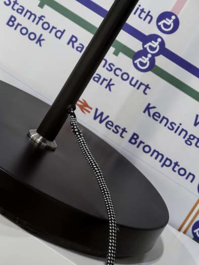 Vloerlamp London ijzer zwart-3