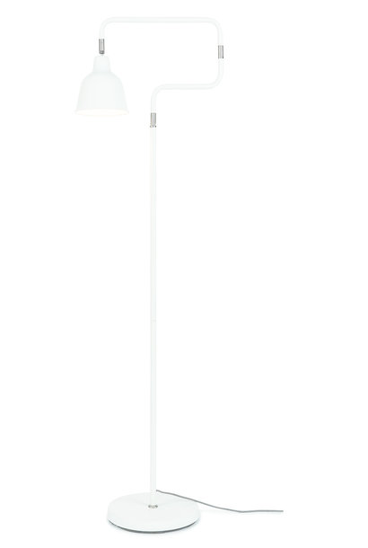 Vloerlamp London ijzer wit