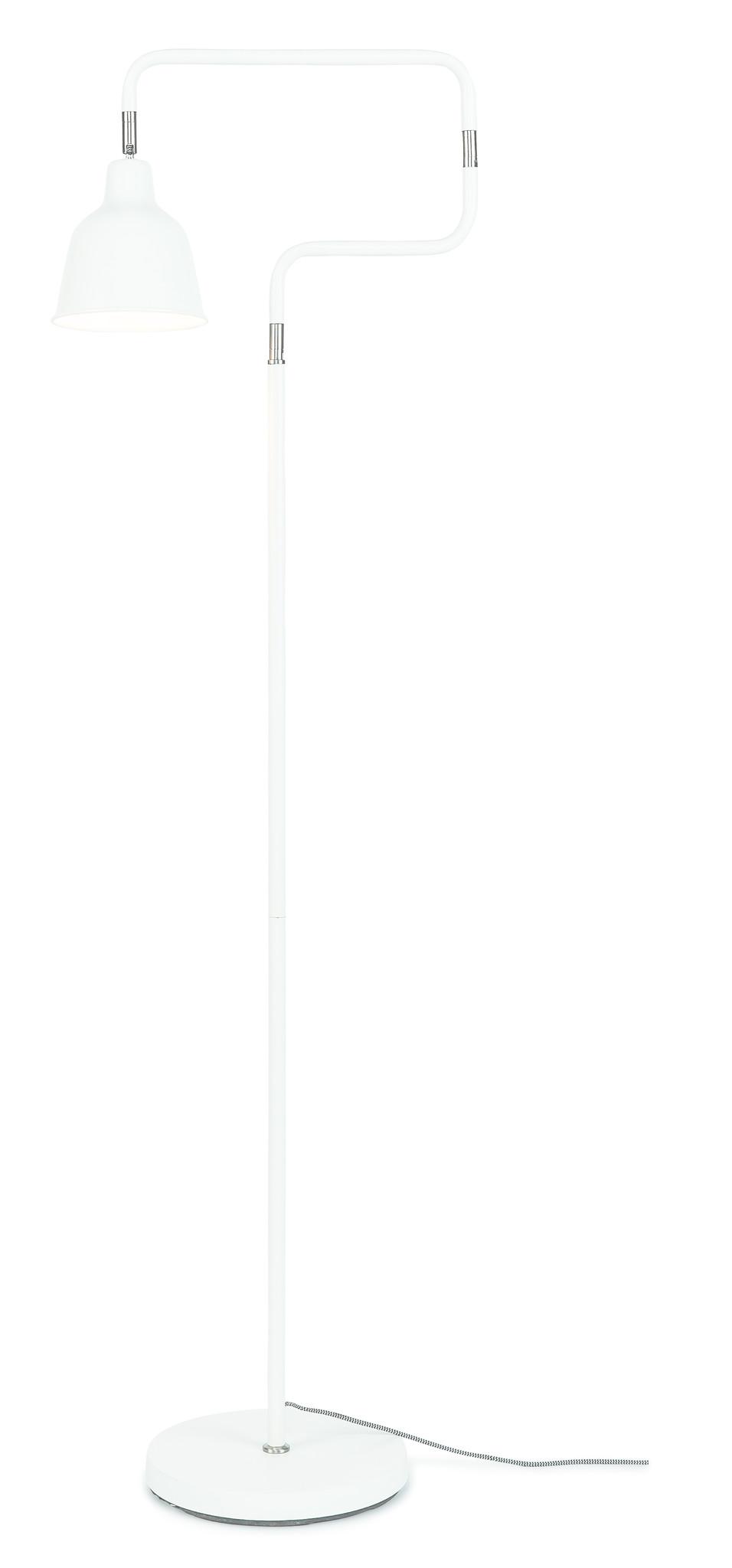Vloerlamp London ijzer wit-1