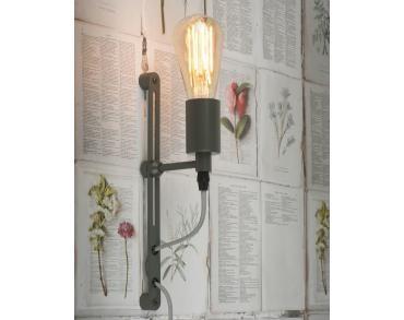 Wandlamp Seattle ijzer grijs-3