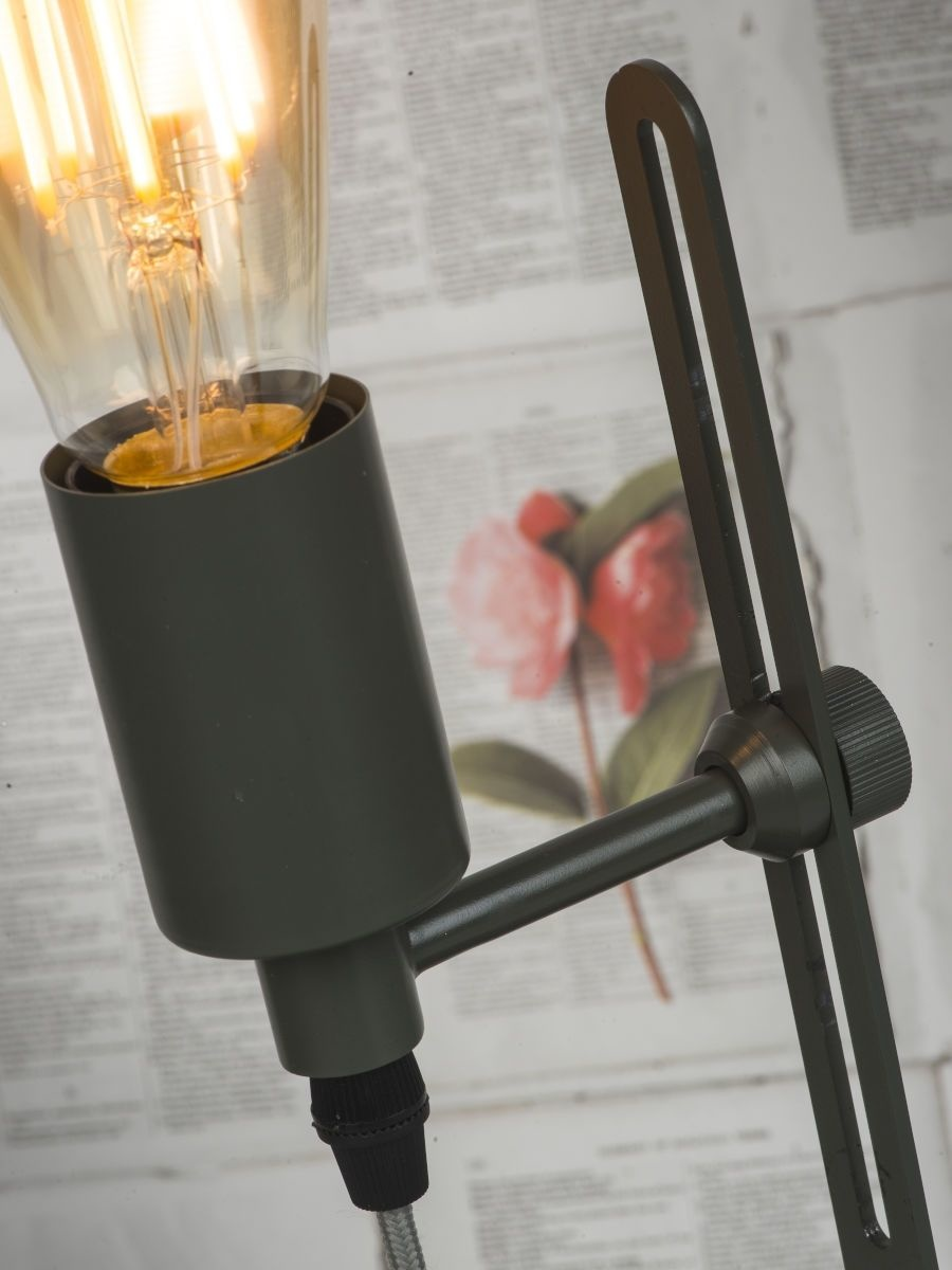 Tafellamp Seattle ijzer grijs-3