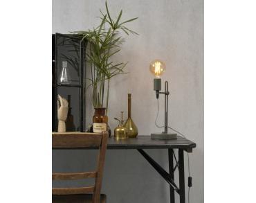Tafellamp Seattle ijzer grijs-2
