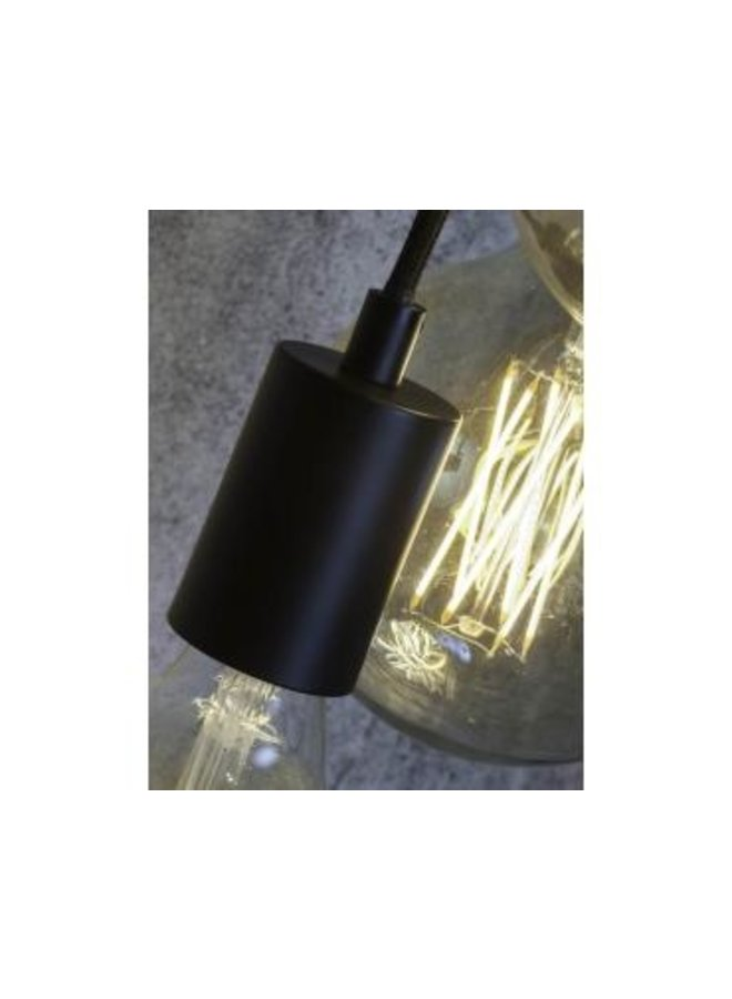 Snoerpendel  Oslo 3 lampen textil 150cm