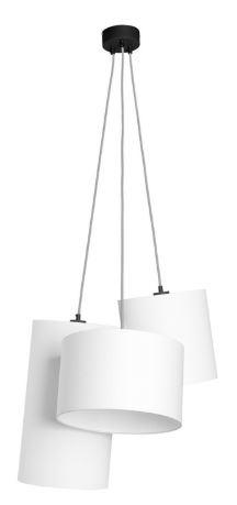 Hanglamp Oslo 3 lampen textil smokey grey-1