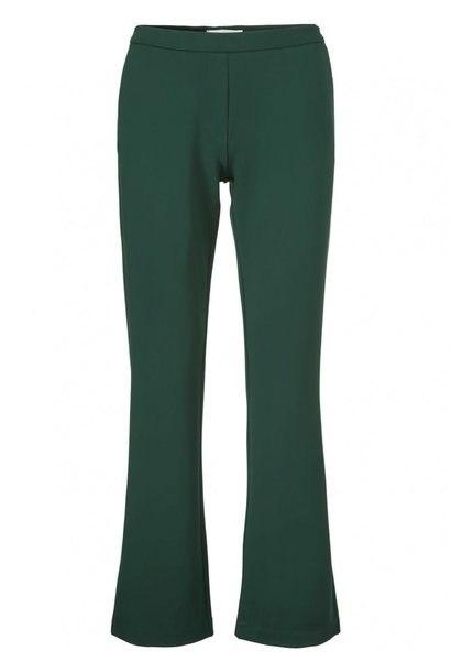 Broek Tanny flare pants rain forest