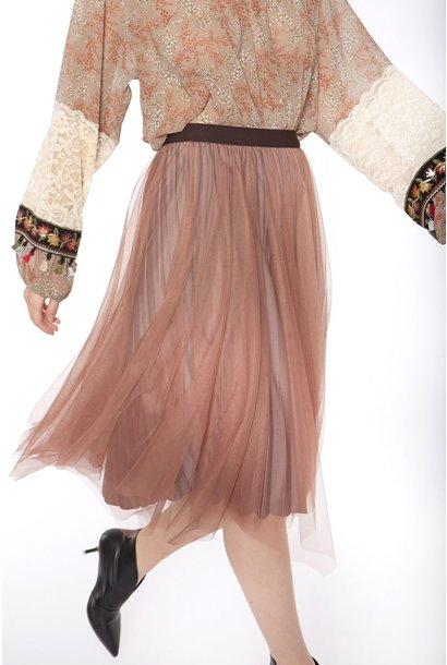 Rok Velvet with elastic waist