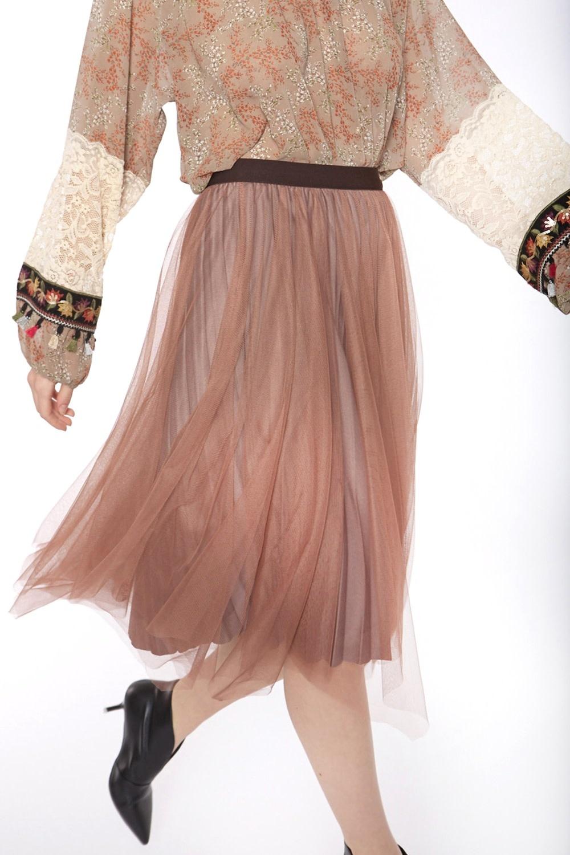 Rok Velvet with elastic waist-1