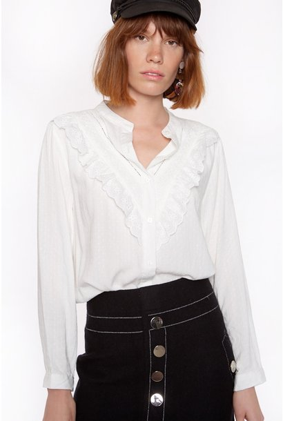 Blouse Cotton with long sleeve