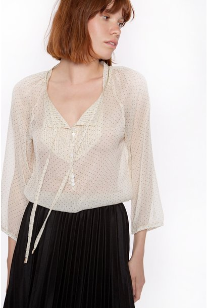 Blouse Long sleeve in chiffon