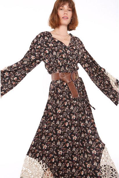 Jurk Floral long dress