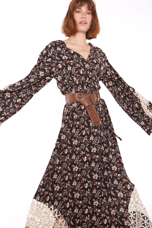 Jurk Floral long dress-1