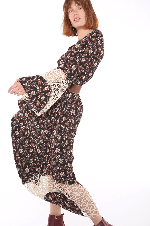 Jurk Floral long dress-3