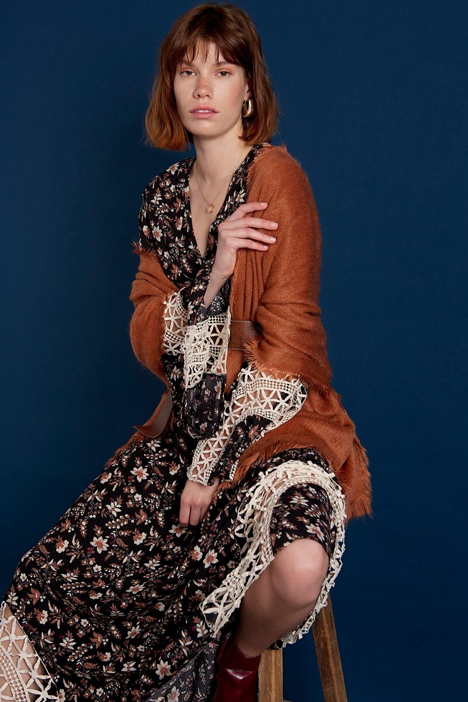 Jurk Floral long dress-2