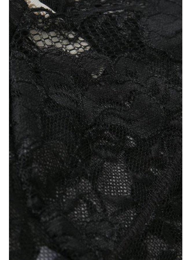 Bralette Glaze Black