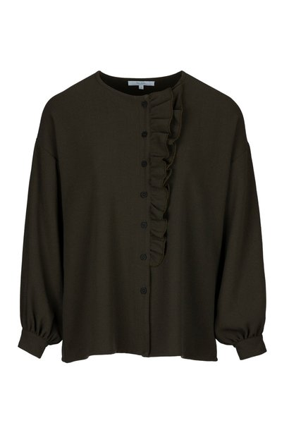 Blouse Jente forest Green