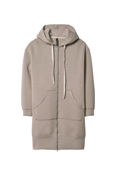 Vest long hoodie dark Toppo