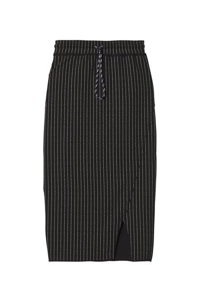 Rok asymmetrical skirt black